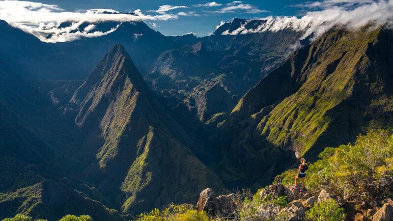 Amazing wandelavontuur op La Réunion met z'n twee
