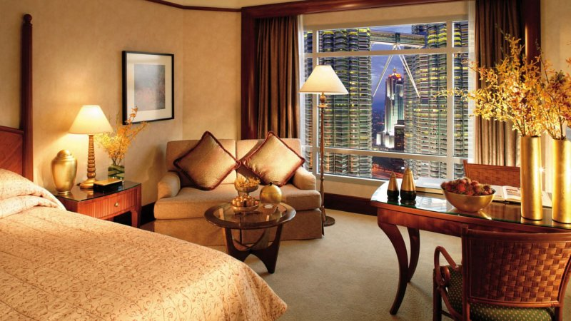 Maleisie-Kuala Lumpur-hotel Mandarin Oriental-kamer