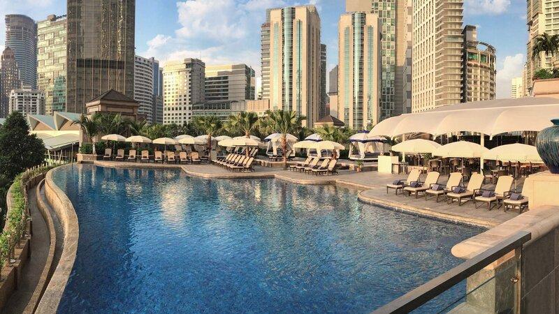 Maleisie-Kuala Lumpur-hotel Mandarin Oriental-zwembad