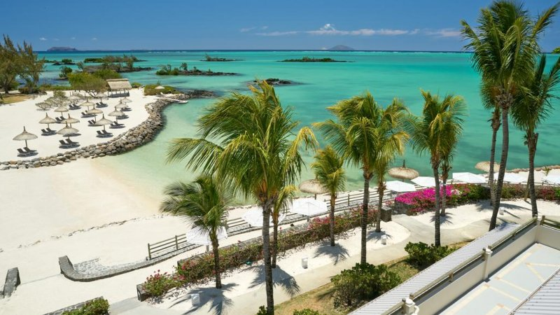 Mauritius Lagoon Attitude Beach