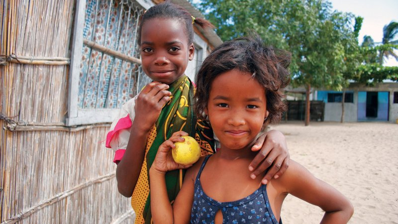Mozambique-kindjes
