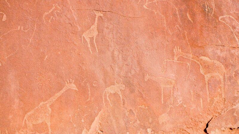 Namibië-algemeen-rotstekeningen
