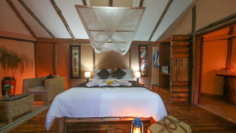 Oeganda-Bwindi Impenetrable Forest-Gorilla Safari Lodge (7)