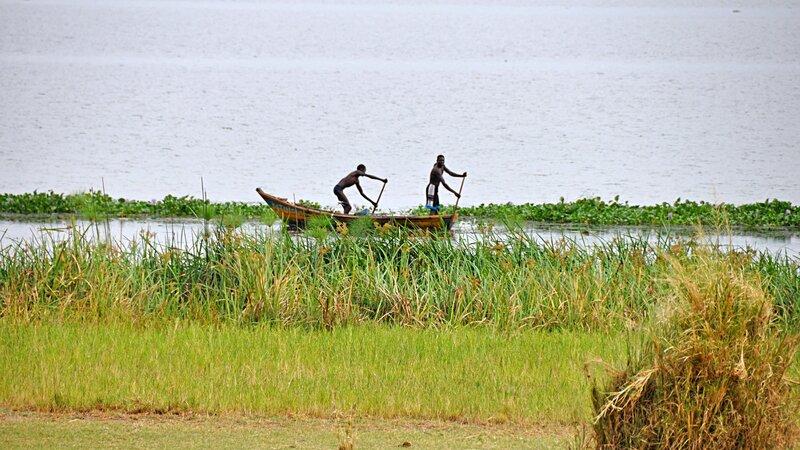 Oeganda-Murchison Falls-vissers