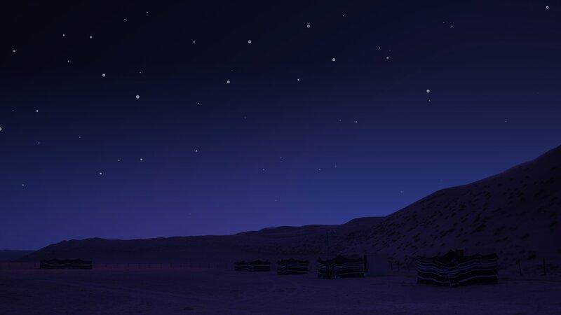 Oman-Wahiba Sands-Sterren