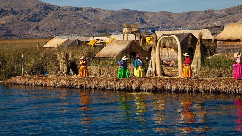 Peru - Titicaca meer (3)