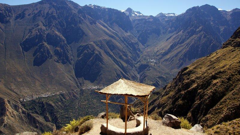 Peru - Valle del Colca - Arequipa - Colca canyon (1)