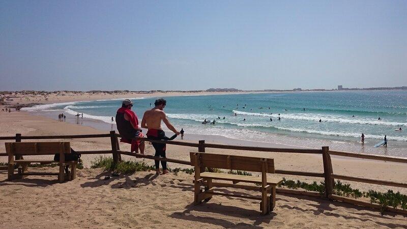 Portugal - Peniche - Nazare - Surfen  (11)