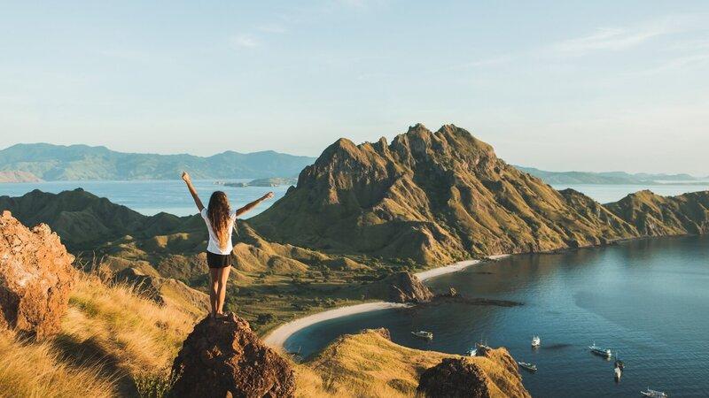 Amazing avontuurlijke honeymoon in Indonesië