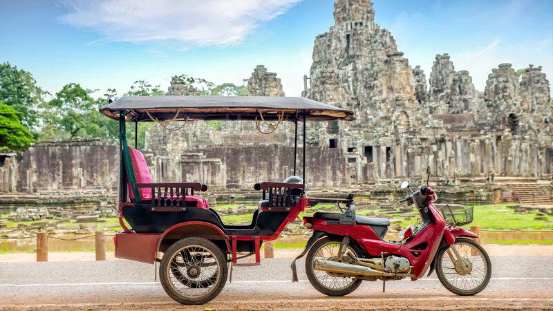 Amazing Cambodja met z'n twee