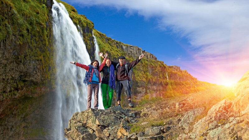 Amazing selfdrive met familie in IJsland