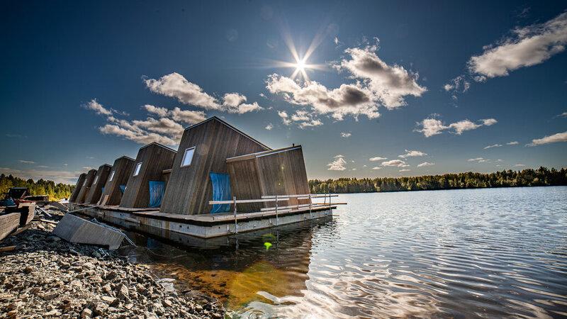 Amazing luxe shortbreak in zomers Zweeds Lapland