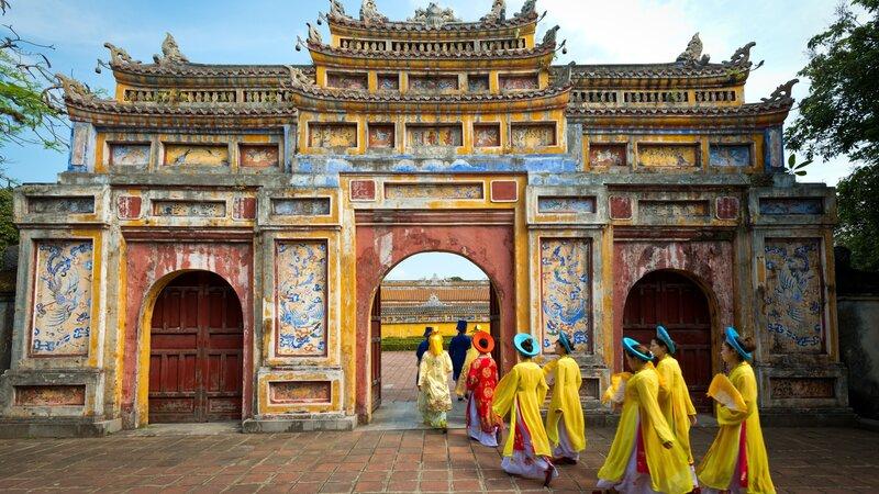Amazing familiereis in Vietnam