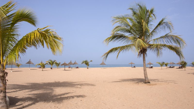 Senegal-Saly stranden