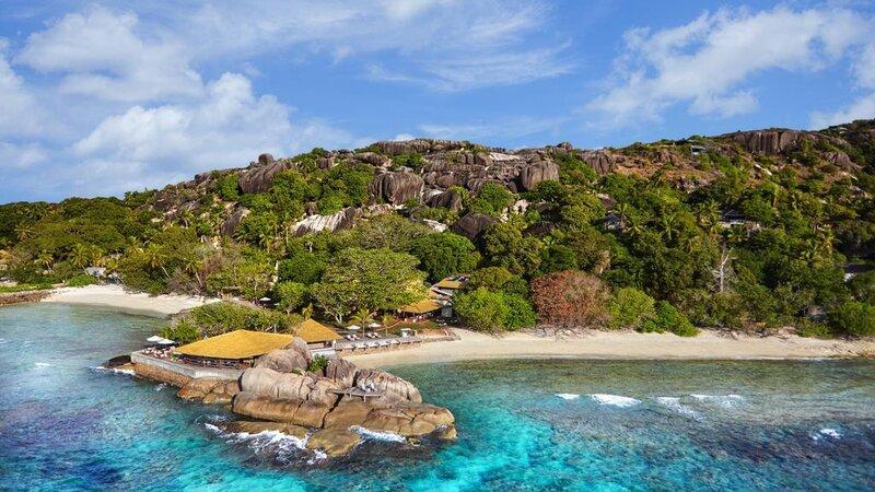 Seychellen-Félicité-Six-Senses-Zil-Payson-luchtfoto-strand
