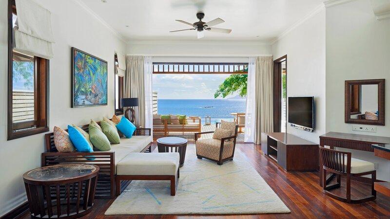 Seychellen-Mahe-Hilton-Northolme-Resort-&-Spa-Pool-villa 1