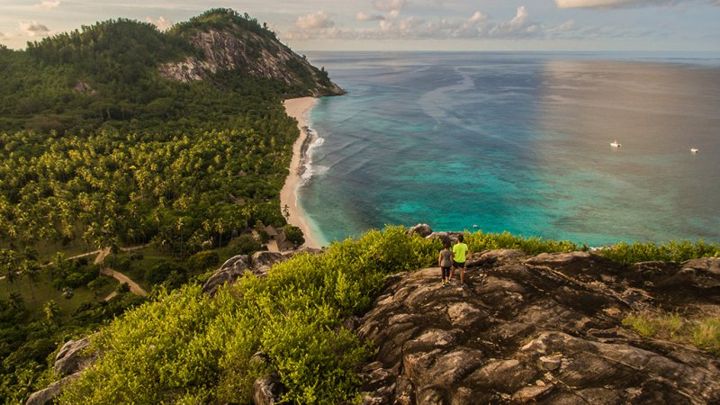 Seychellen-Private-eilanden-North-Island-hiking-koppel-bergtop