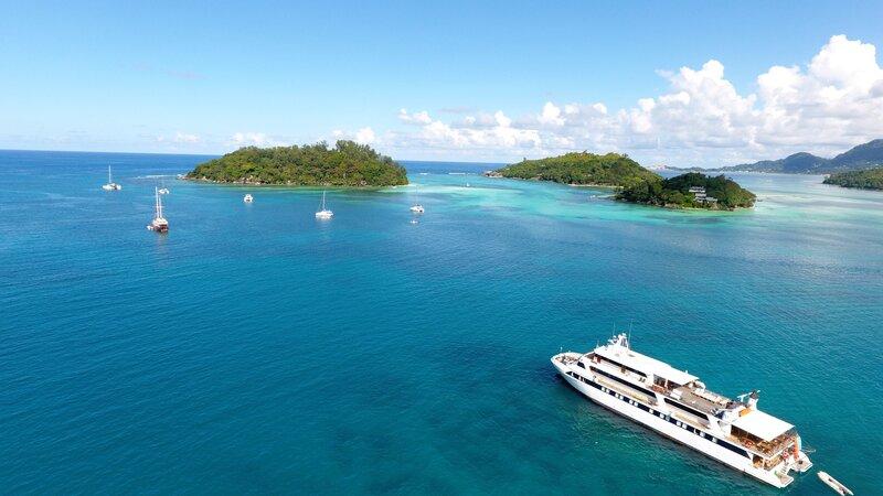 Amazing cruise in de Seychellen met z'n twee