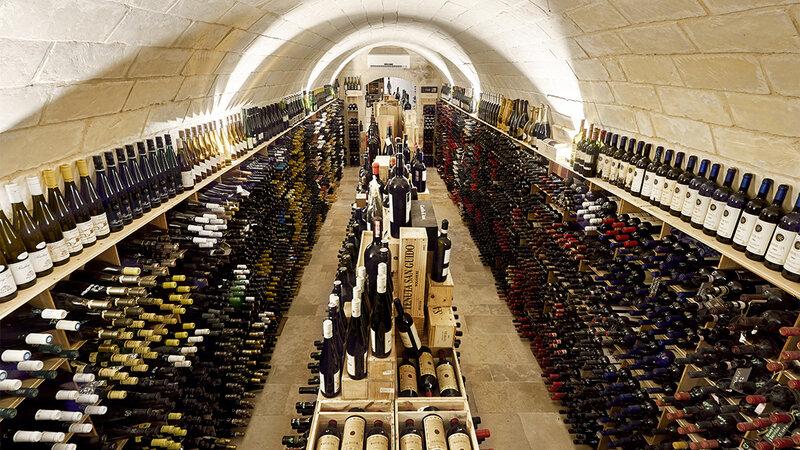 Sicilie-Zuidoost-Ragusa-Locanda-Don-Serafino-wijnkelder