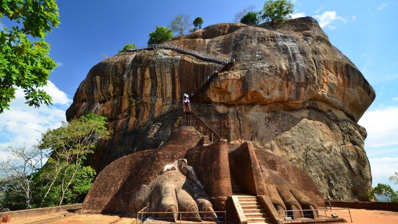 Sri Lanka-Sigiriya-hoogtepunt-lions rock