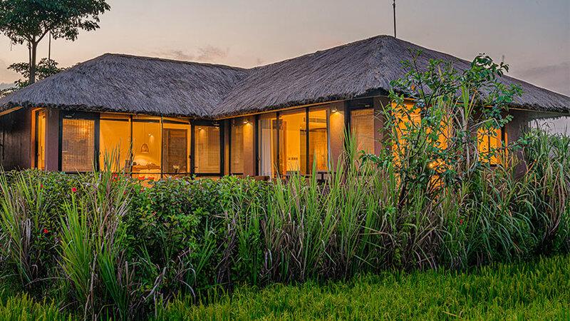 Sri-Lanka-Sigiriya-Hotel-Water-Garden-huisje