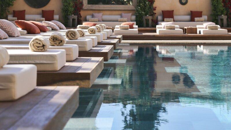 The Margi swimming pool