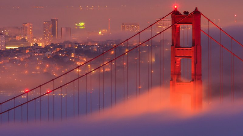 Verenigde staten - USA - VS - San Francisco - Golden gate Bridge (6)