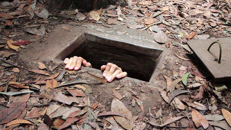 Vietnam-Ho Chi Minh-hoogtepunt-Ci Chu tunnels