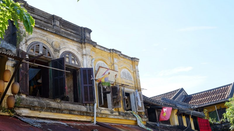 Vietnam-Hoi An-huizen