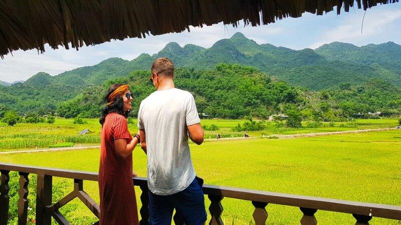 Vietnam-Mai-Chau-Ecolodge-Mai-Chau-koppel-uitzicht