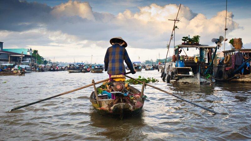 Cambodja en Vietnam privé begeleide rondreis