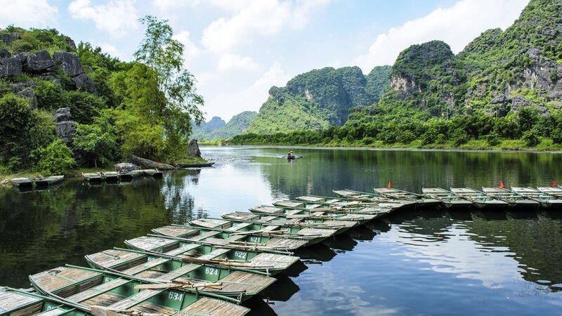 Vietnam-Ninh Binh-bootjes