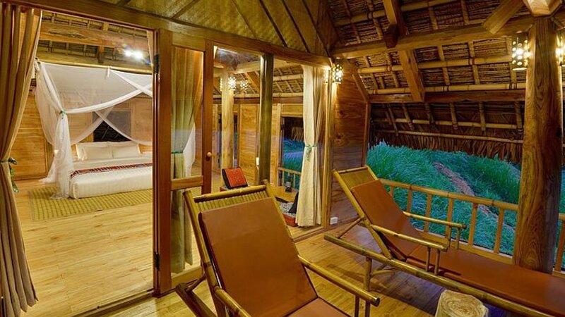 Vietnam-Pu-Luong-Puluong-Nature-Resort-private-room-enkel-redactioneel-gebruik
