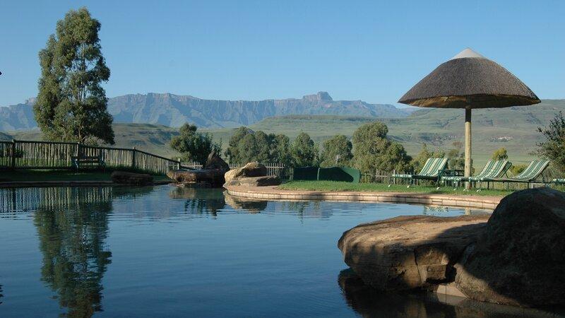 Zuid-Afrika-Drakensbergen-Montusi mountain lodge