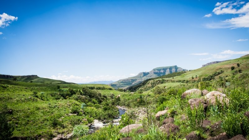 Zuid-Afrika-Drakensbergen-Montusi-Mountain-Lodge-omgeving-2JPG