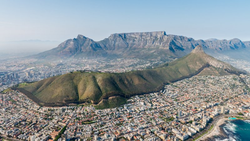 Zuid-Afrika-Kaapstad-hoogtepunt-Tafelberg