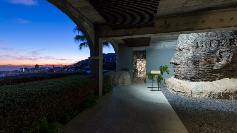 Zuid-Afrika-Kaapstad-hotel-Ellerman-House-buitenruimte