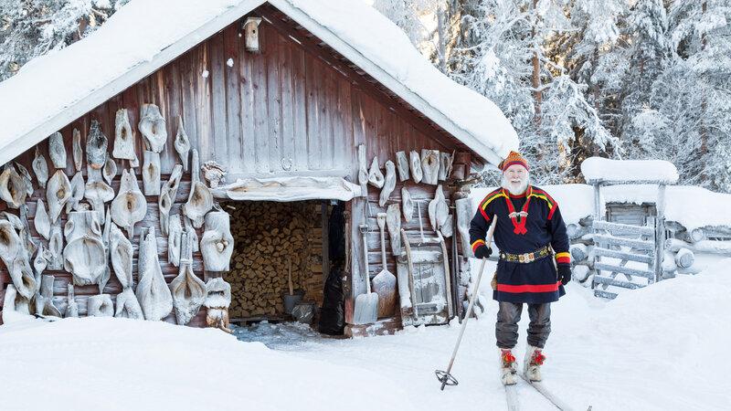 Zweden-Lapland-Harads-Loggers-Lodge-activiteit-sami