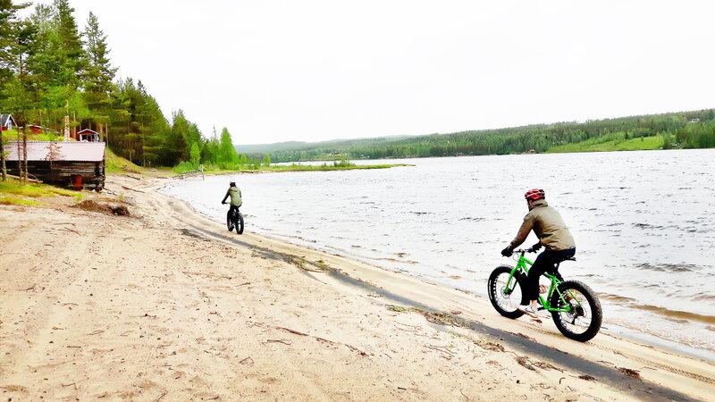 Zweden-Lapland-Harads-Treehotel-Taigaadventures-fatbike