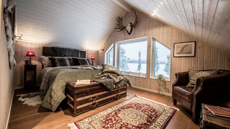 Zweden-Lapland-Kiruna-Fjellborg-Arctic-Lodge-masterbedroom-slaapkamer