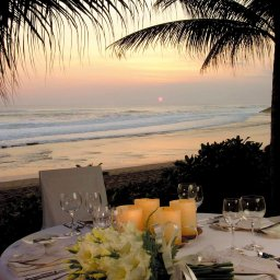 38-Wedding Dinner Sunset
