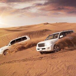 Abu Dhabi-4x4 woestijn