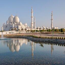 Abu Dhabi-Sheikh Zayed Grote Moskee
