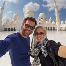 Abu Dhabi-Sheikh Zayed Moskee - koppel