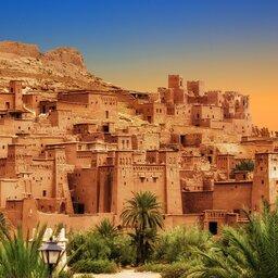 Africa - Marokko - Kasbah Ait Ben Haddou - Atlas gebergte