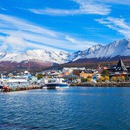 Argentinië - Ushuaia harbor port - Tierra del Fuego