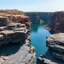 Australië - King George River - King George Falls - Kimberley coast