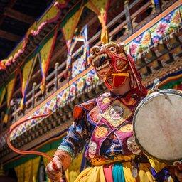 Bhutan-Paro-hoogtepunt-religieus festival