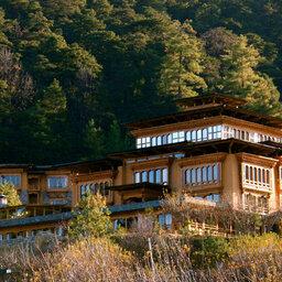Bhutan-Paro-Hotel-Naksel Resort-buitenkant