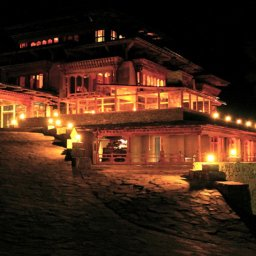 Bhutan-Paro-Hotel-Naksel Resort-By Night